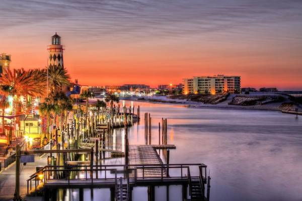Wall Art - Photograph - The Destin Harbor Walk by JC Findley