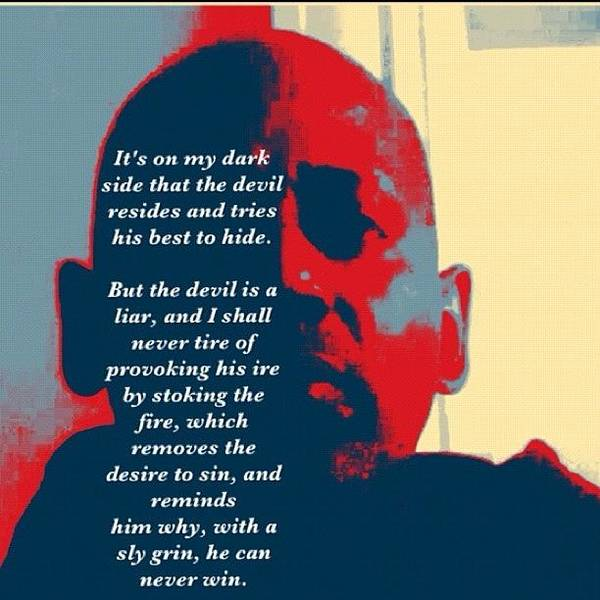 Wall Art - Photograph - The Devil Is A Liar by Nigel Williams