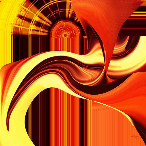 Digital Art - The Devil's Keyhole by rd Erickson