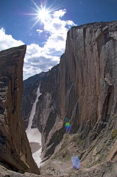 Fourteener Photograph - The Diamond, Longs Peak, Rocky Mountain by Jake Norton