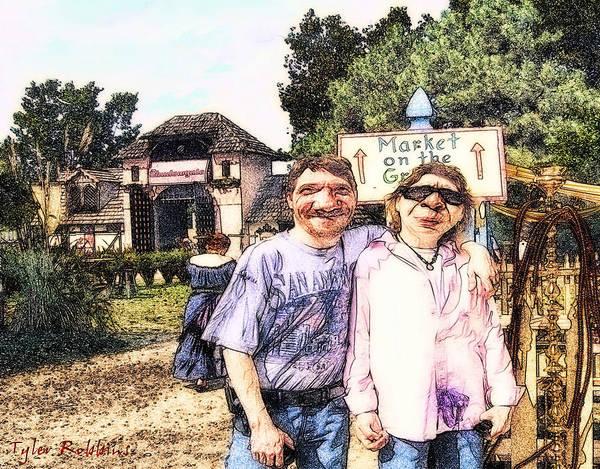 Photograph - The Dingbat Family At The Fair by Tyler Robbins