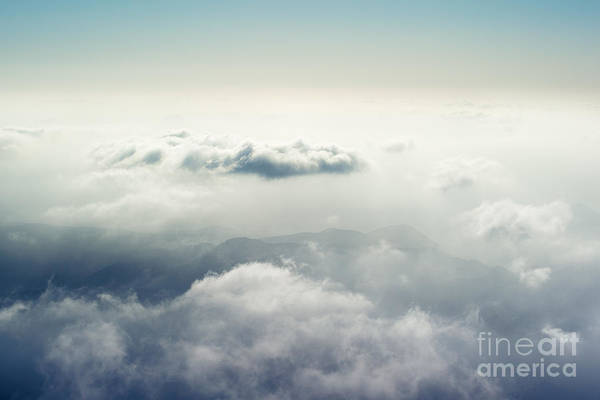 Marine Layer Photograph - The Disappearing Landscape by Alexander Kunz