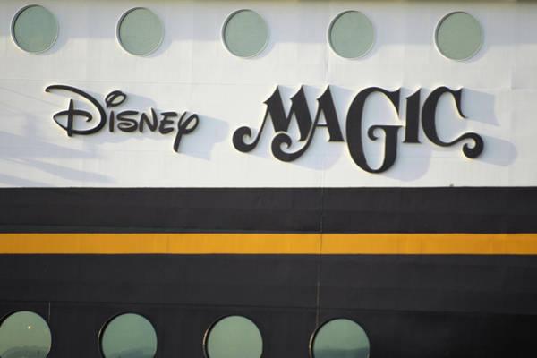 Photograph - The Disney Magic Portholes by Bradford Martin