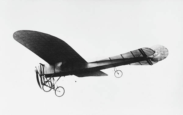 Bleriot Photograph - The Distinctive 'pigeon'tail'  On This by Mary Evans Picture Library