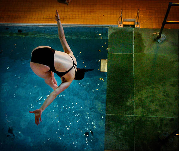 Photograph - The Diver  by Paul Sutcliffe