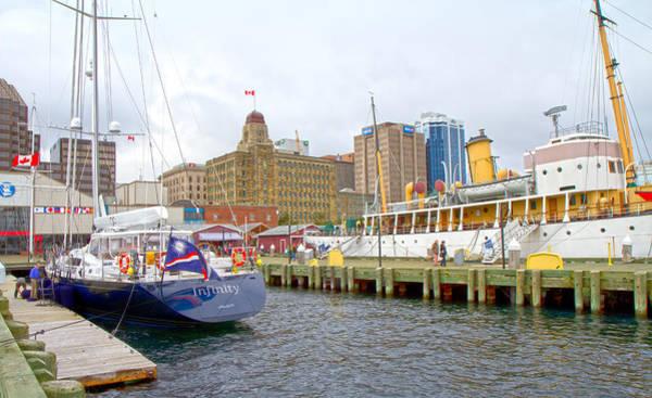 Atlantic Canada Wall Art - Photograph - The Docks by Betsy Knapp