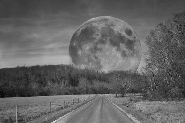 Moonscape Photograph - The Doctor's Light Four Of Four by Betsy Knapp