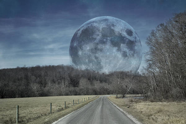 Moonscape Photograph - The Doctor's Light Three Of Four by Betsy Knapp