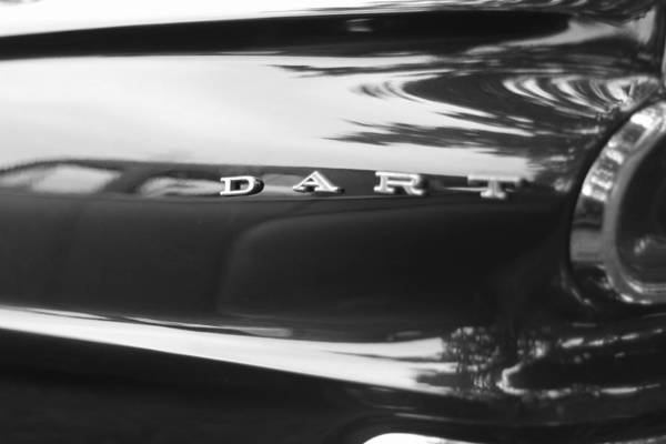 Photograph - The Dodge Dart by Dan Sproul