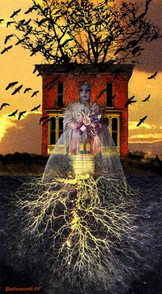 Victorian House Digital Art - The Doll House by Larry Butterworth