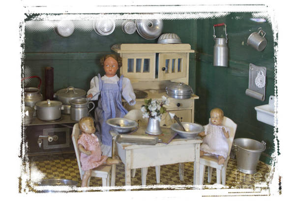 Doll House Photograph - The Dollhouse From Other Times by Heiko Koehrer-Wagner