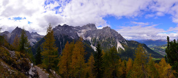 Photograph - The Dolomites In Fall 2 by Matt Swinden