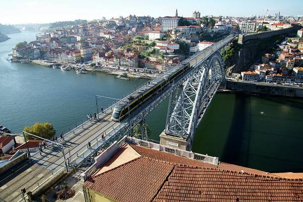 Dom Wall Art - Photograph - The Dom Luis I Bridge by Sinclair Stammers
