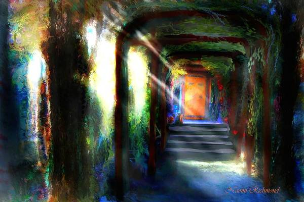 Arbor Digital Art - The Door 36 by Naomi Richmond