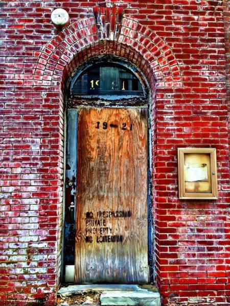 Photograph - The Door by Chris Montcalmo