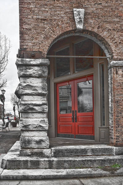 Photograph - The Door Is Red by Sharon Popek