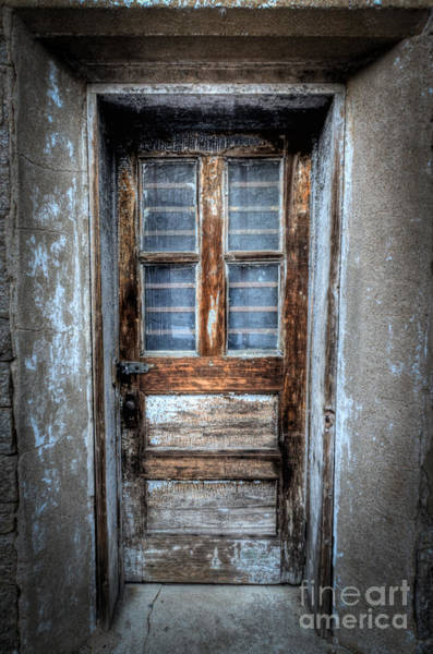 Nikon Photograph - The Door by Michael Ver Sprill