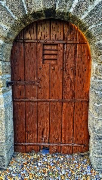 The Door - Vintage Art By Sharon Cummings Art Print