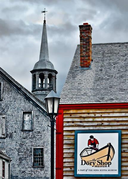 Photograph - The Dory Shop In Shelburne Nova Scotia by Ginger Wakem
