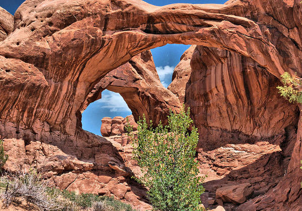 Photograph - The Double Arch - Arches National Park by Gregory Ballos
