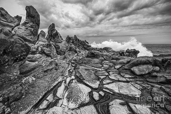 Kapalua Photograph - The Dragons Teeth by Jamie Pham