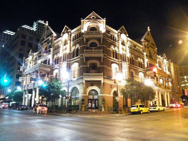 Photograph - The Drake Hotel Of Austin by The GYPSY