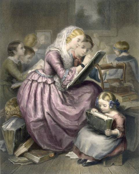 Teacher Drawing - The Drawing School, C.1835 by French School