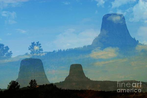 Photograph - The Dream Before Devils Tower by Anthony Wilkening