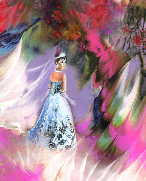 Painting - The Dream Bride by Miki De Goodaboom