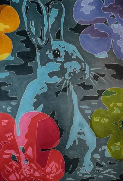 Rabit Painting - The Dreamer by Varvara Stylidou
