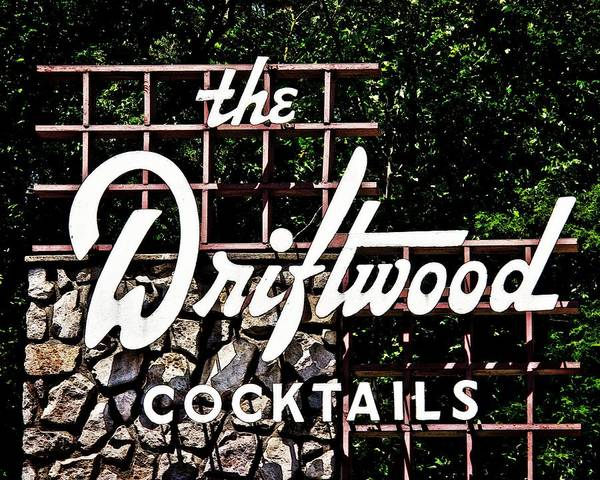 Cocktail Lounge Photograph - The Driftwood Latrobe Pa by Tom Gari Gallery-Three-Photography