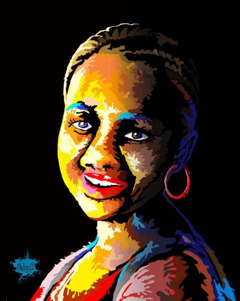 Mama Africa Wall Art - Digital Art - The Dripping Lady by Anthony Mwangi
