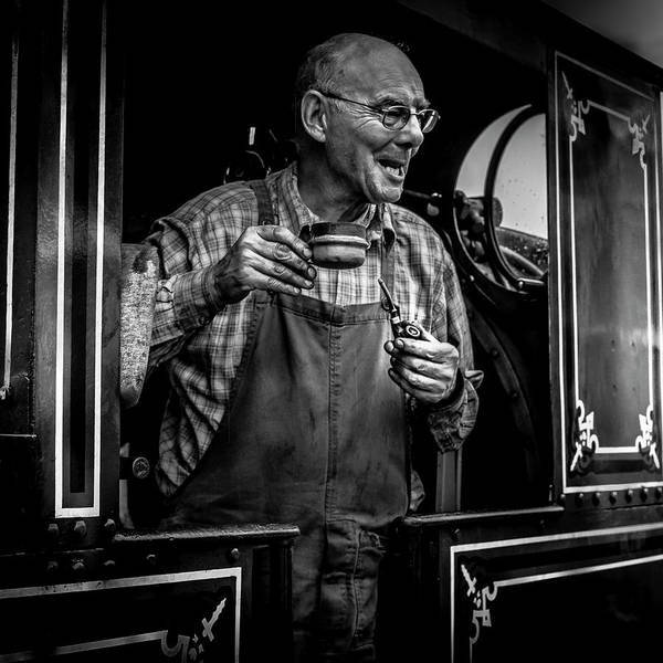 Railroads Photograph - The Driver by Luis Borges Alves