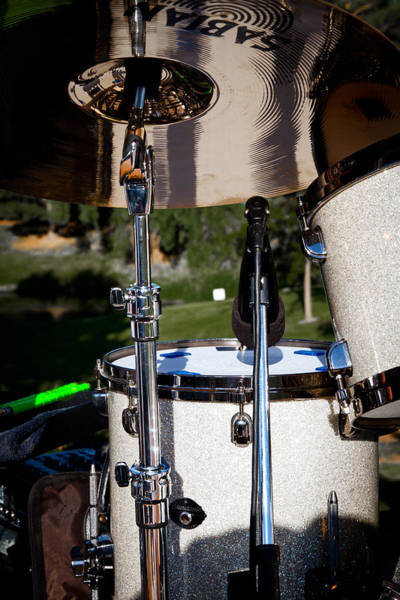 Photograph - The Drum Set by David Patterson
