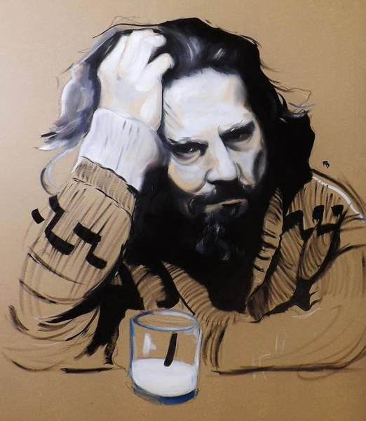 The Dude Painting - The Dude - The Big Lebowski by Matt Burke