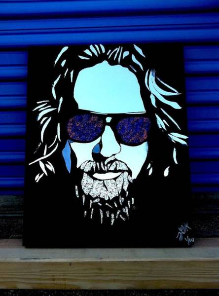 Dude Mixed Media - The Dude by Tom Runkle