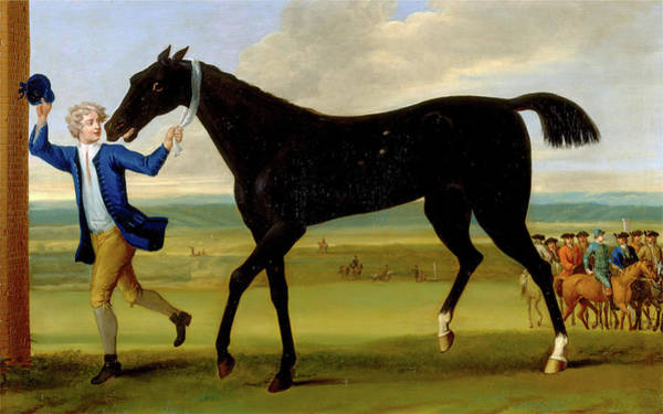 Boot Hill Painting - The Duke Of Rutlands Bonny Black, John Wootton by Litz Collection