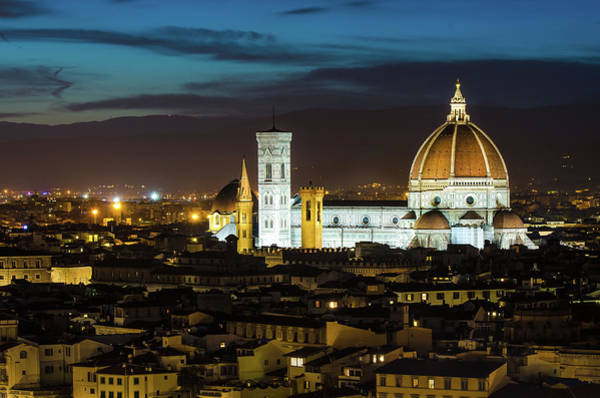 Duomo Photograph - The Duomo - Florence Cathedral by Marius Roman