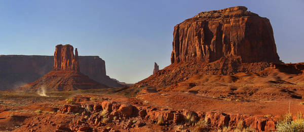 Monument Valley Photograph - The Dusty Trail - Monument Valley by Mike McGlothlen