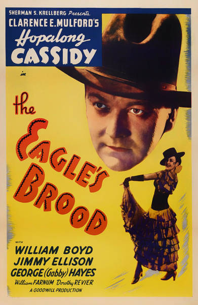 Notice Photograph - The Eagle's Brood Movie Poster 1935 by Mountain Dreams