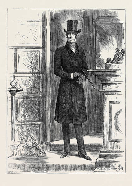 1880 Drawing - The Earl Of Rackland 1880 by English School