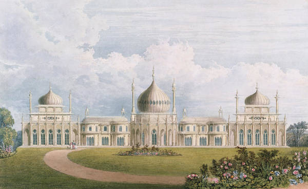 Brighton Painting - The East Front by English School