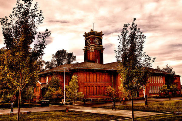 Photograph - The Eclectic Bryan Hall At Washington State University by David Patterson