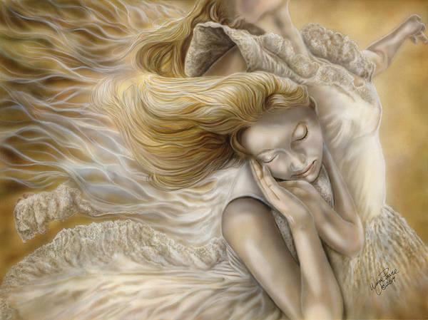North Dakota Painting - The Ecstasy Of Angels by Wayne Pruse