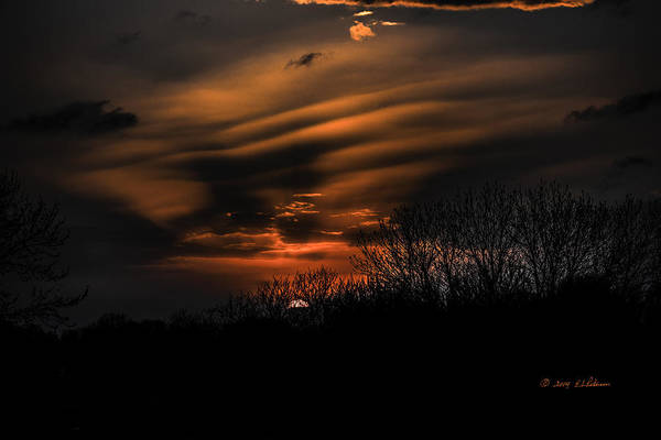 Photograph - The Edge Of Night by Edward Peterson