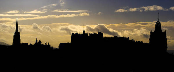 Photograph - The Edinburgh Skyline by Ross G Strachan