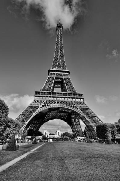 Photograph - The Eiffel Tower 1 by Mauro Celotti