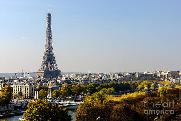 Photograph - The Eiffel Tower  by Andy Myatt