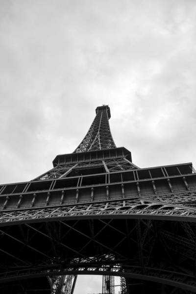 Photograph - The Eiffel Tower From Below by Scott Lyons