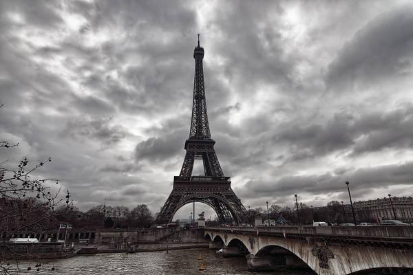 Photograph - The Eiffel Tower by Mark Whitt
